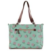 Pink Lining Bramley Tote Baby Changing Nappy Bag - Hydrangea