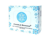 Charlie Banana 2-in-1 Nappy Liners and Wipes, Natural Infant, Baby, Child