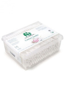 Fe - Cotton Swabs Natural Softness - 200 swabs - Rectangle Box