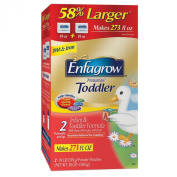 Enfagrow Premium Toddler Milk Drink 2 - 1120ml 2 Powder Pouches 58% Larger Makes 273 Fl O