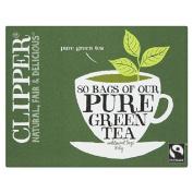 Clipper Green Tea Bags 80 per pack