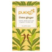 Pukka Three Ginger Tea 20 per pack