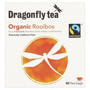 Dragonfly Fairtrade Rooibos Tea Bags 40 per pack