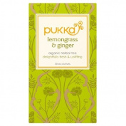 Pukka Lemongrass & Ginger Tea 20 per pack