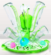 New Kid Munchkin Sprout Baby Bottle & Accessories Drying Rack Tray Cleaning Organiser