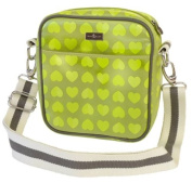 Beau & Elliot Confetti Insulated Baby Bottle Bag - Lime