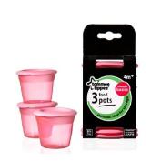 Tommee Tippee Essential Basics Food Pots x 3 3 per pack