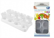 8 pack Baby Weaning Food Freezer Cubes Stage 2 - 70ml Pots