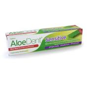 Aloedent 100ml Sensitive Aloe Vera Plus Echinacea Fluoride Free Toothpaste - Pack of 3