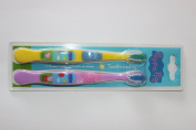 Peppa Pig Toothbrush Twin Pack 2 Pack Toothbrushes Pink/Yellow