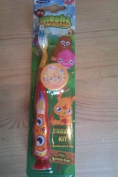 Moshi Monsters Poppet Childrens Toothbrush with Cap