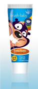 Brush Baby Childrens Toothpaste - value pack of 12 tubes