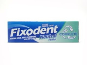 THREE PACKS of Fixodent Denture Adhesive Cream - Neutral Taste