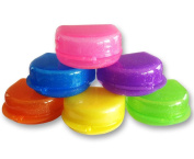 Glitter Gum Shield Case - Mouthguard Box for Ortho Retainers, Sports Dental Appliances, Dentures & More