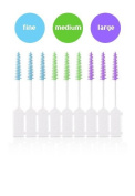 3 x Wisdom Clean Between Interdental Brushes - Pack of 20 - Size Fine Blue
