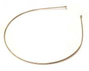 Allsorts® Thin Metal Gold Aliceband Headband Tiara Base