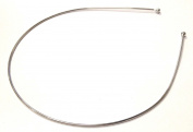Allsorts® Thin Metal Silver Aliceband Headband Tiara Base