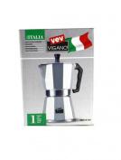 Vev Vigano Italia Stovetop Espresso Maker MADE IN ITALY 1 Cup !