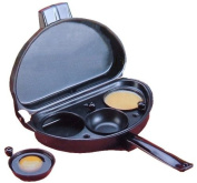 Non-Stick Omelette Pan with removable 3 Egg Poacher