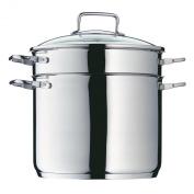 WMF 724916040 Pasta Pot with Glass Lid 24 cm