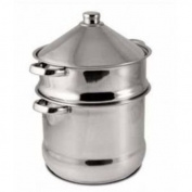 Baumalu 340971 Couscous Maker with Tagine 14 L Stainless Steel