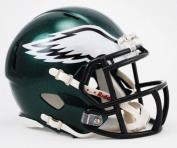 OFFICIAL NFL PHILADELPHIA EAGLES MINI SPEED AMERICAN FOOTBALL HELMET BY RIDDELL