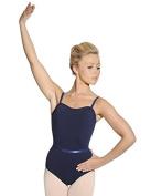 Roch Valley Camisole Dance Leotard with Belt Black or Navy CMajor Exam / Ballet