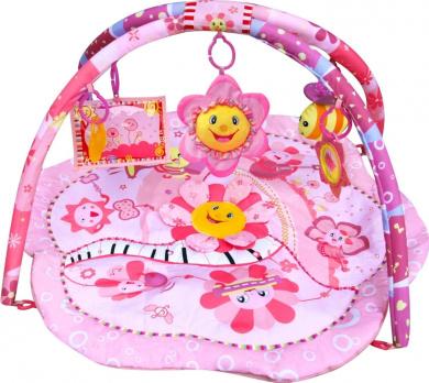 Baby Playmat, Play Gym, Musical Activity Gym stunning Pink Flower Design