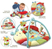 Little Bird Told Me Softly Snail Snuggle Time Playmat & Gym