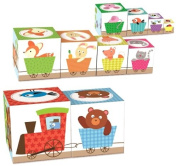 Goula Stackable Woodland Cubes