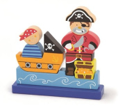 Viga Magnetic Wooden Pirate Puzzle #50077