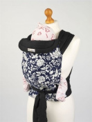 Palm and Pond Palm & Pond Mei Tai Baby Sling - Blue & White Floral