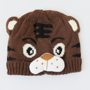 1pc Baby Girls Boys Kids Toddlers Crochet Knit Cute Tiger Hat Cap Beanie Bonnet