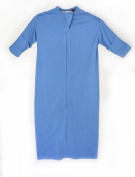 Original Eczema Sleeping Bag Bamboo Bubby, Tuquoise Blue, Size 6 months-2+