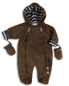 The Essential One - Fur Baby Snowsuit Pram suit EO4