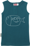 SOOKIbaby I Dream of Fish Baby Boy's Singlet Printed Size 00 6-9 Months