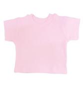 BabywearUK BABY T-SHIRT - Pink - 0-3 months - British Made