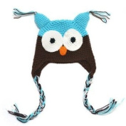 Owl Beanie Knitted Hat - For Baby & Toddler - Lovely and Cute - Multiple Colours