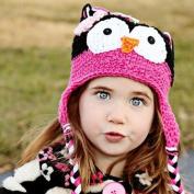 Cute Baby Girl Boy Crochet Hat Kids Knit Handmade Cap