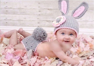 Baby Newborn Infant Boy Girl Knit Crochet Costume Photo Photography Prop Outfit
