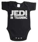 Jedi in training funny baby boy/girl babygrow vest [Baby Product]