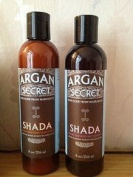 Argan Secret Shada Combination pack of Sulphate Free Shampoo and Luxury Smoothing Conditioner