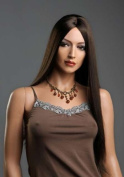 Forever Young Ladies Wig XXX Long Dark Brown Wig without Fringe + FREE Wig Cap