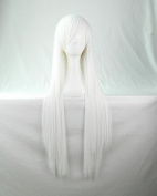 "32"" 80cm Long Hair Heat Resistant Straight Cosplay Wig"