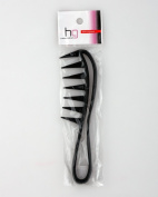 Head Gear BLACK Wide Toothed Afro Comb HG1