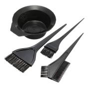 Five Season Hairdressing Salon Hair Colour Dye Bowl Comb Brushes Kit Set
