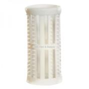 SKELOX Plastic Hair Rollers/ Curlers 12 x 30mm WHITE + Free Pins!