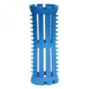 SKELOX Plastic Hair Rollers/ Curlers 12 x 20mm Blue + Free Pins!