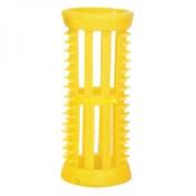 SKELOX Plastic Hair Rollers/ Curlers 12 x 22mm Yellow + Free Pins!