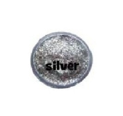 Snazaroo Glitter Gel - Silver 12ml